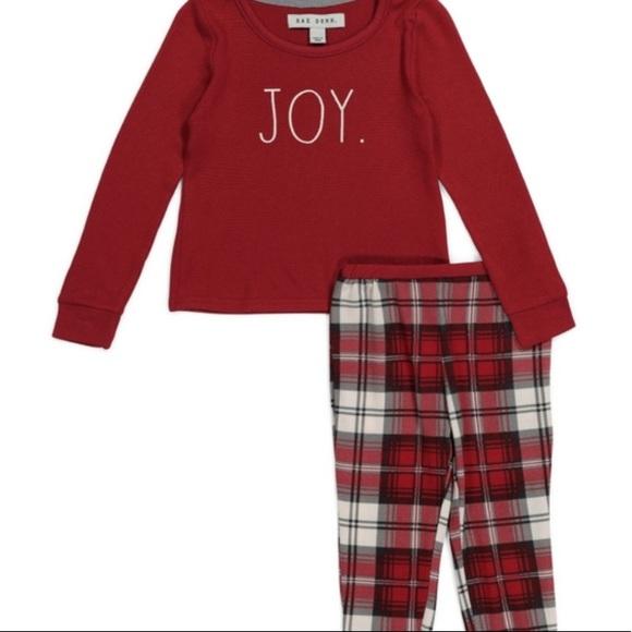 🎊HP x3 🎉Rae Dunn JOY pajama holiday Christmas